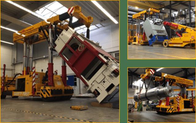 TriLifter/diesel boom truck